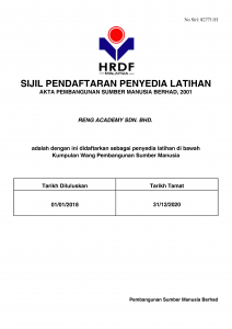 HRDF Licence